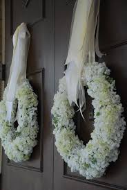 wedding wreaths decor hydrangea wreaths 2042239 weddbook