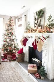 cozy christmas living room tour bless u0027er house
