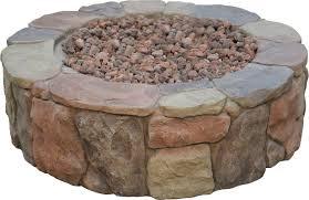 Fire Pit Mat by Bond Petra Envirostone Propane Gas Fire Pit U0026 Reviews Wayfair
