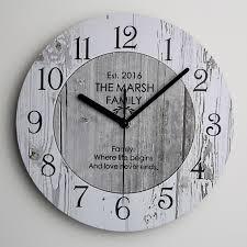 Grande Horloge Murale Carrée En Bois Vintage Achat Shabby Chic De Grande Cuisine En Bois Horloge Murale Nouvelle Maison