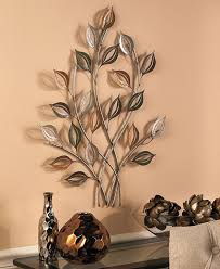 Contemporary Art Home Decor Gold U0026 Silver Metal Leaves Wall Sculpture Leaf Art Contemporary