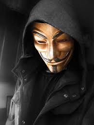 anonymous mask fawkes v for vendetta anonymous custom painted rusted