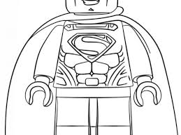 45 lego coloring pages lego superman coloring free printable