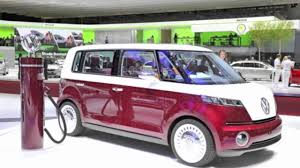 volkswagen van front view new vw bus concept bulli youtube