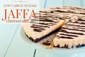 carb bake jaffa cheesecake options sweeteners