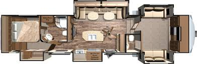 cougar 5th wheel front living room the living area features a