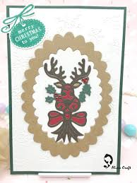 aliexpress com buy metal cutting dies die cut christmas deer