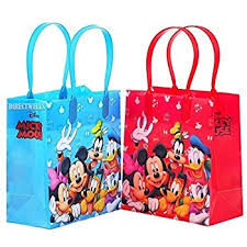 mickey mouse favor bags mickey mouse clubhouse party favor pack value pack
