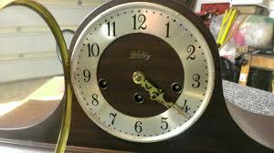 Mantle Clock Repair Welby Westminster Chime Mantel Tambour Clock C 1971 Germany