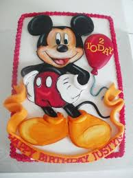 mickey mouse birthday party cake ideas image inspiration of cake