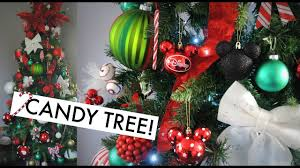 decorate with me candy cane christmas tree youtube