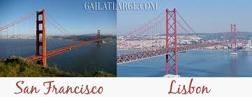 golden gate bridge sfo vs ponte 25 de abril lis gail at large