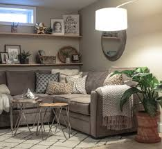 cozy basement family room reveal fearfully u0026 wonderfully made
