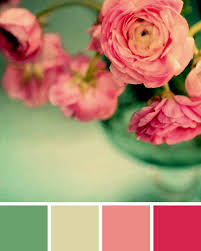 complementary colors pink mint green and pink colors fashion trend in 2015 in the