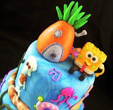 spongebob birthday cakes squarepants for kids u2014 wow pictures