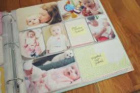 baby albums record baby s with photograph smart babytree