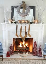 wohnzimmer weihnachtlich dekorieren inneneinrichtung wohnzimmer weihnachten kamin dekorieren