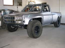 prerunner truck suspension chevy prerunner not liking the modified headlights and grille