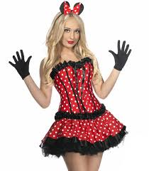 Minnie Mouse Costume Burlesque Minnie Mouse Costume Minnie Mouse Costume