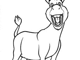 12 coloring pages donkey free printable donkey coloring pages