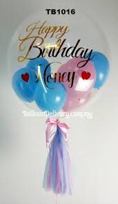 helium balloon delivery in selangor tb1016 transparent with gold wording balloondelivery my