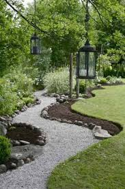 these are the paths for the main garden with french drains under