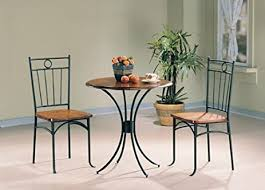 Oak Bistro Table 3 Pc Oak Bistro Set Kitchen Dining
