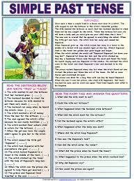 simple past tense rapunzel 1 rapunzel