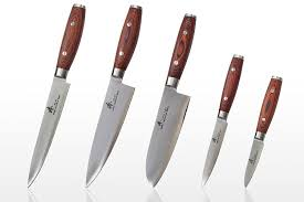 Chef Kitchen Knives Amazon Com Zhen Japanese Vg 10 5 Piece 3 Layer Forged Steel