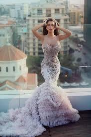 pink wedding dresses pink mermaid wedding dresses naf dresses