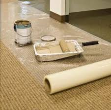 self adhesive floor plastic is to protect tile
