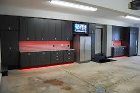 garage design with concrete garage floor and garage storage or garage design with concrete garage floor and garage storage or garage cabinet with plus garage lighting