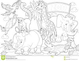 zoo coloring pages vladimirnews