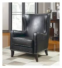 Beautiful Tufted Black Leather Accent Chairs Advice For Your