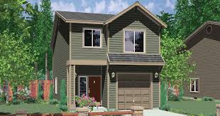 houses with 4 bedrooms narrow lot house plans building small houses for small lots