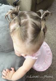 simple hairstyles with one elastic the 25 best baby girl hairstyles ideas on pinterest baby hair