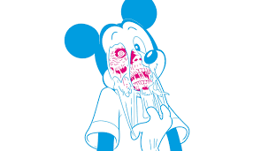 zombies mickey mouse artwork disney wallpapers hd desktop and