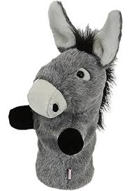 oversized eeyore shrek donkey head cover golf golf answers
