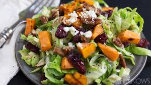 Salad Thanksgiving Brussels Sprouts Salad Is A Perfect Taste Of Fall