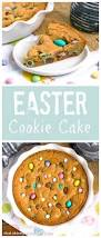 easter cookie cake that skinny can bake