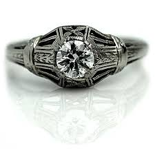 1920s engagement rings the at vintagediamondrings six stunning deco