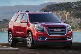 Most Interior Space Suv 2016 Gmc Acadia Review U0026 Ratings Edmunds