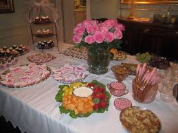 menu ideas for baby shower afternoon baby shower decoration