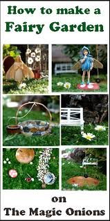 tutorial for a succulent fairy garden the magic onions