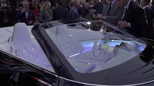 2018 vision mercedes maybach 6 cabriolet youtube