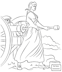 Betsy Ross Flags American Revolutionary War Betsy Ross Flag History Coloring Pages