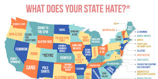 do you the same stuff everyone in your state hates
