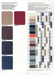 e30 seat upholstery interior codes designs and options by year