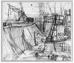 frank auerbach london building sites 1952 62 news architects