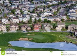 suburbia stock photography image 31115142